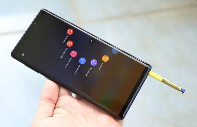 Những tính năng mới thú vị của S Pen trên Galaxy Note 9