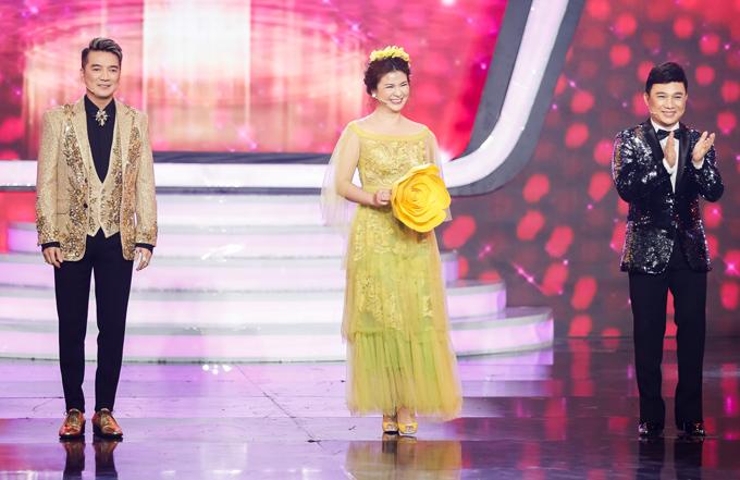 Mr Đàm, nghệ sĩ Kim Oanh và ca sĩ Quang Linh hào hứng đến chấm thi chung kết Gương mặt thân quen 2018.