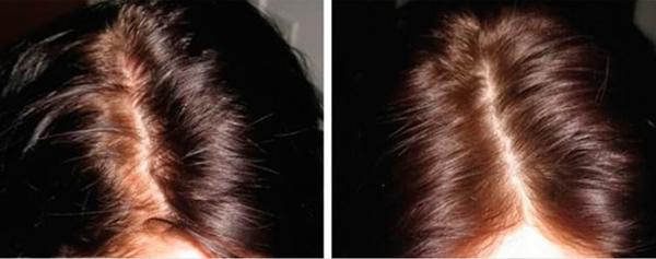 huốc nhuộm tự nhiên từ 2 muỗng canh bột quế, 1 muỗng canh bột ca cao, 1 muỗng canh bột bắp với nửa bát nước ấm. Tiếp đó, dùng cọ hoặc bàn chải thoa đều hỗn hợp lên tóc, hạn chế dính vào da dầu. Dùng túi ủ tóc khoảng 30 phút, xả lại với nước, sấy khô và nhận thành quả