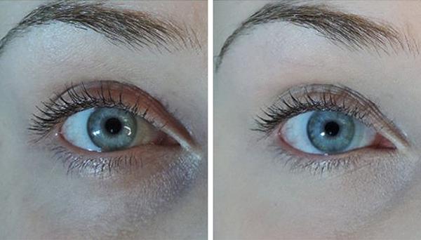Dùng trà túi lọc đã qua sử dụng làm lạnh trong mười phút rồi đắp lên vùng da dưới mắt để trị quầng thâm.