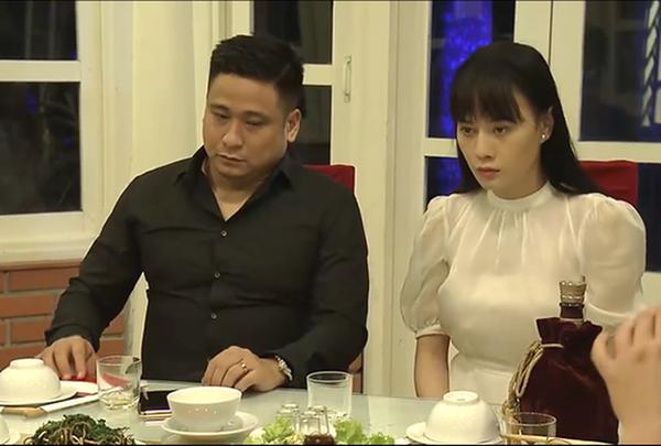 Minh Tiệp và Phương Oanh trong phim Quỳnh búp bê.