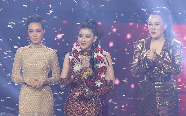 Trần Ngọc Ánh vượt xa các đối thủ và giành tỷ lệ bình chọn cao nhất tại chung kết The Voice 2018.