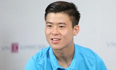 Hot boy Duy Mạnh tươi tắn trong talk show với Ngoisao.net