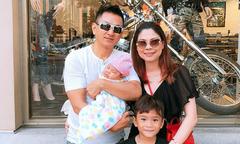 Ảnh hot 3/9: Vợ chồng Thanh Thảo dạo phố cùng hai con