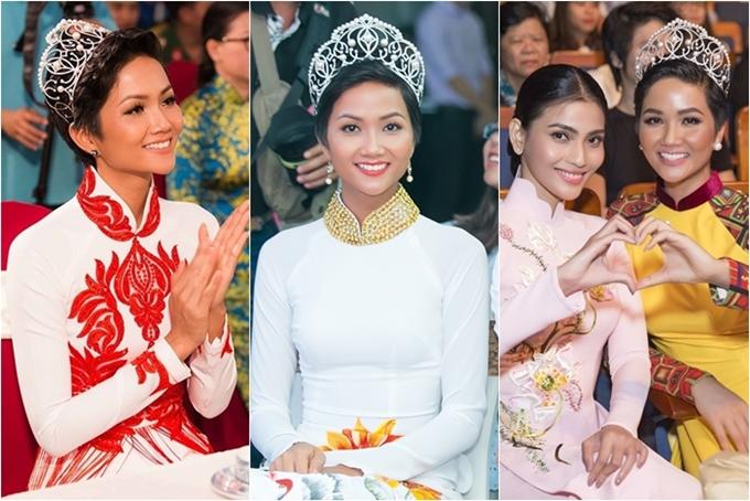 Những Hoa hậu, Á hậu lạm dụng đội vương miện khi dự sự kiện - 3