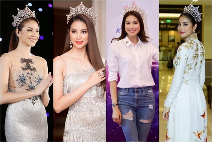 Những Hoa hậu, Á hậu lạm dụng đội vương miện khi dự sự kiện - 7