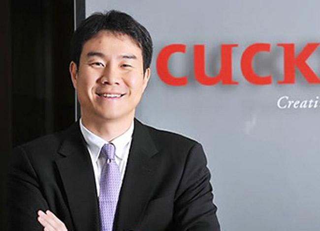 Koo Bon-hak (48 tuổi), con trai cả của nhà sáng lập Cuckoo Koo Ja-sin hiện là CEO củaCuckoo Holdings. Ảnh: The Korea Time.