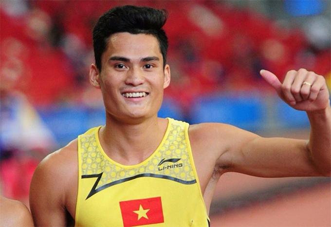 Quách Công Lịch là VĐV số một của điền kinh Việt Nam ở nội dung 400m.