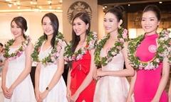 Thí sinh Hoa hậu VN tập trung tại TP HCM chuẩn bị chung kết