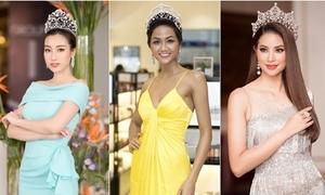 Những Hoa hậu, Á hậu 'lạm dụng' đội vương miện đi dự sự kiện