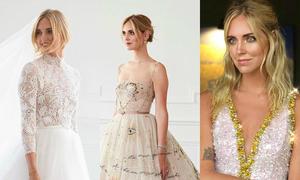 Nữ blogger được giám đốc Dior thiết kế cho 3 chiếc váy cưới
