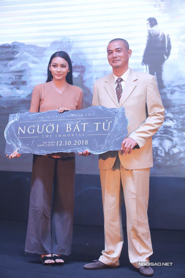 Diễn viên Thanh Tú đóng vai người tình của Quách Ngọc Ngoan trong phim này.