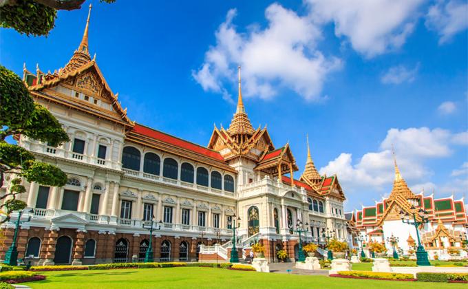 Grand Palace ở Bangkok là một trong những điểm must-see.