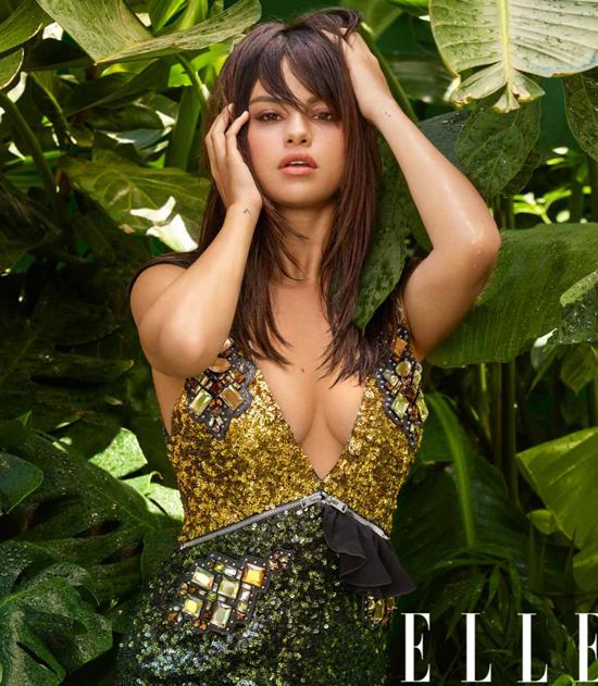 Selena Gomez được mời làm gương mặt trang bìa của tạp chí thời trang Elle số tháng 9.