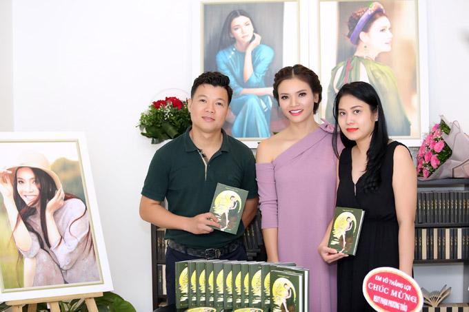 Vợ chồng ca sĩ Vũ Thắng Lợi là những người bạn thân trong nghề của Phạm Phương Thảo.