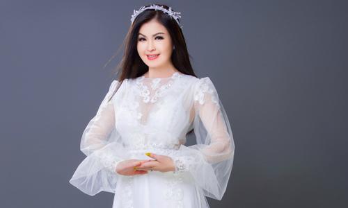 Yến Vy gợi ý mẫu áo dài giấu dáng cho cô dâu tròn trịa