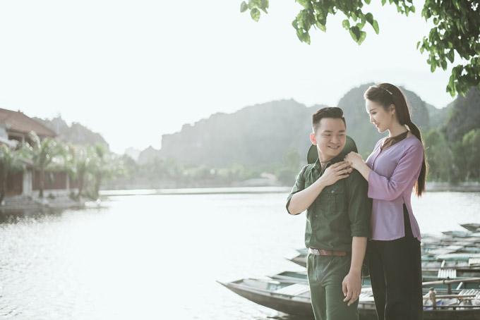 Á hậu Thụy Vân khoe giọng hát dân ca ngọt ngào cùng MC Hạnh Phúc  - 10