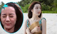 Địch Lệ Nhiệt Ba khiến khán giả 'vỡ mộng' khi lộ mặt nhiều nếp nhăn