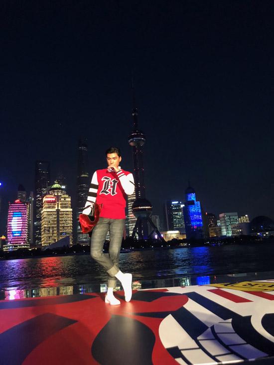 Người mẫu Quang Đại gặp gỡ vợ sắp cưới của Justin Bieber tại Thượng Hải - 2