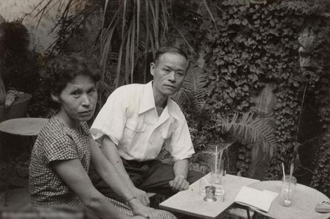 Cụ Masao đoàn tụ gia đình sau ba lần tham gia chiến tranh vào năm 1946. Ảnh: Reuters.