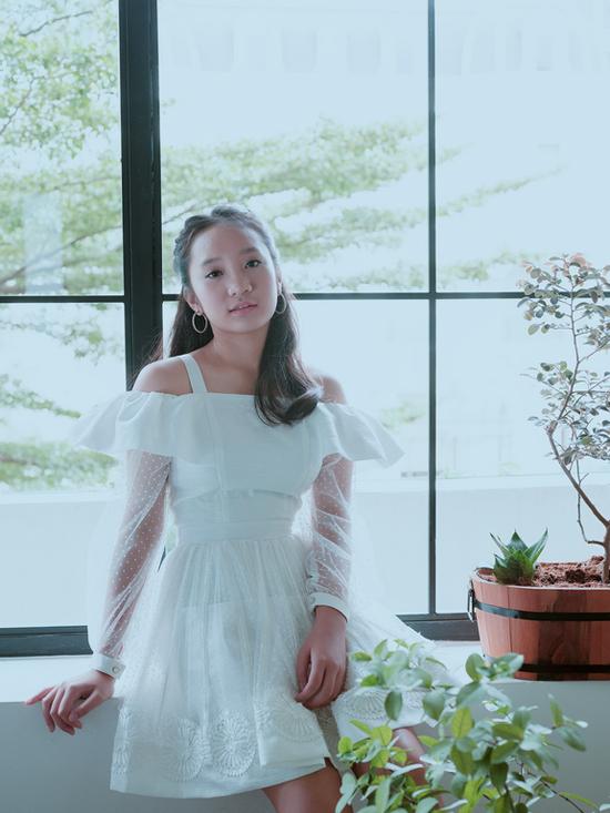 Váy bèo nhún cho bé gái lứa tuổi thần tiên - 1