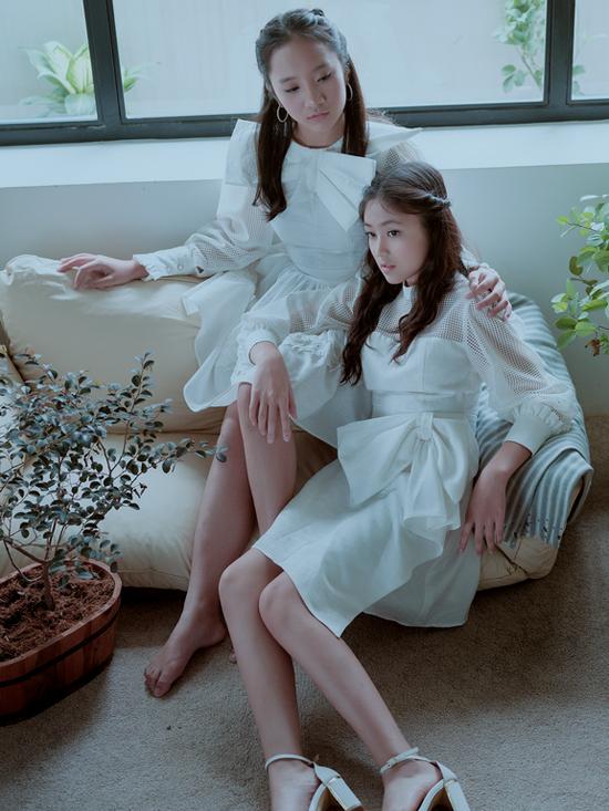 Váy bèo nhún cho bé gái lứa tuổi thần tiên - 5