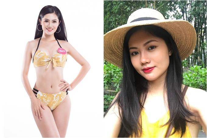 Vũ Hương Giang từng đăng quang Hoa khôi Phụ nữ Việt Nam qua ảnh 2017.