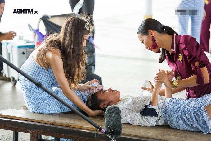 Rima Thanh Vy ngất xíu sau khi thắng thử thách Asias Next Top - 1