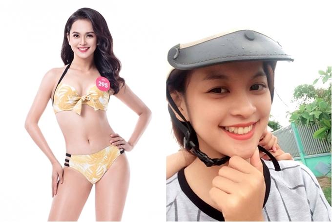 Đặng Thị Trúc Mai có răng khểnh dễ thương và lọt vào top 3 Người đẹp Bikini.