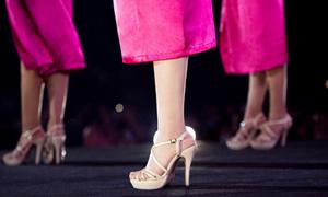 Giày thiết kế riêng cho cuộc thi Hoa hậu Việt Nam 2018