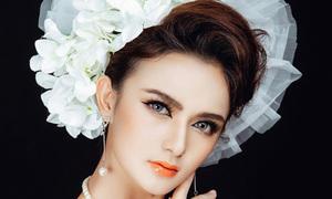 Makeup cô dâu theo phong cách Ấn Độ tôn đôi mắt đẹp