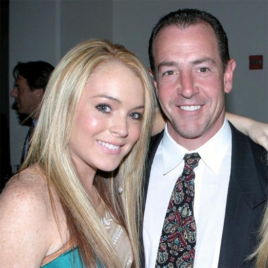 Lindsay và bố.
