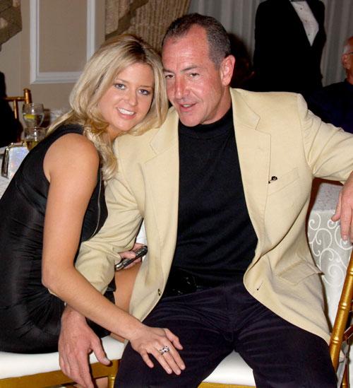 Michael Lohan và Kate Major.