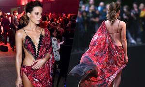 Minh tinh Kate Beckinsale hở bạo trên thảm đỏ bất chấp tuổi U50