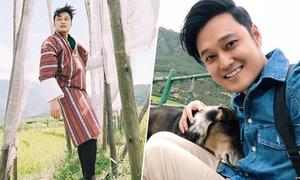 Quang Vinh tìm hiểu tập tục thờ 'của quý' của người dân Bhutan