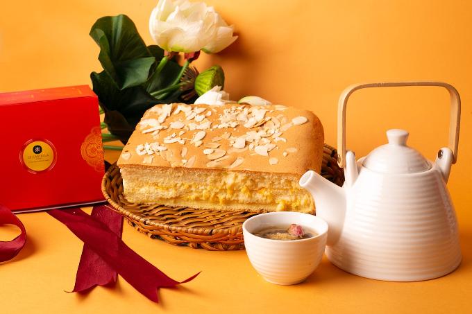 Làm mới mâm cỗ trung thu với bánh bông lan Đài Loan Le Castella - 4