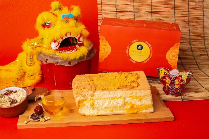 Làm mới mâm cỗ trung thu với bánh bông lan Đài Loan Le Castella