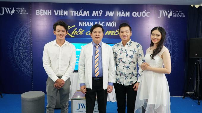 Quang Minh tham gia chương trình thiện nguyện của thẩm mỹ JW - 2