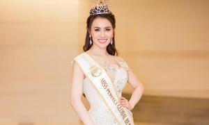 Thư Dung bị tước danh hiệu Hoa hậu Sắc đẹp Hoàn mỹ Toàn cầu