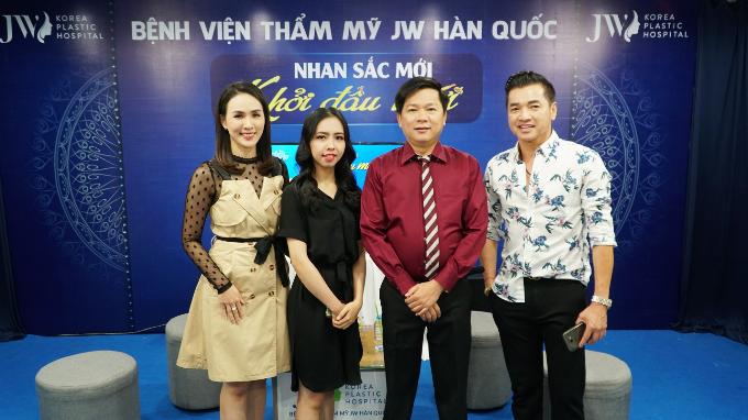 Quang Minh tham gia chương trình thiện nguyện của thẩm mỹ JW