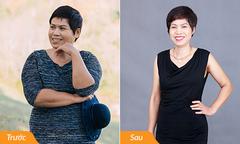 Giảm 13kg, người phụ nữ 53 tuổi trẻ như thời gái một con