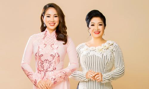 Lê Phương và mẹ gợi ý áo dài sang trọng cho ngày đại hỷ