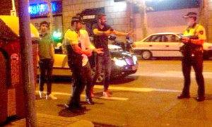 Hé lộ video Pique tranh cãi với cảnh sát khi bị chặn xe