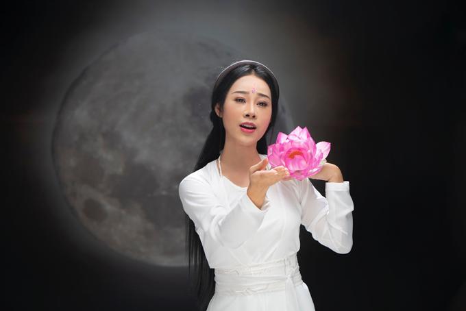 Bà xã Việt Hoàn với tạo hình trong MV cover nhạc phim Diên Hy Công Lược