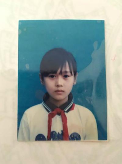 Diễn viên Phương Oanh (Quỳnh búp bê) thời bé.