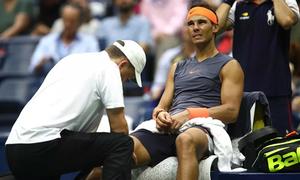 Nadal rầu rĩ vì chấn thương, phải bỏ cuộc ở bán kết Mỹ mở rộng