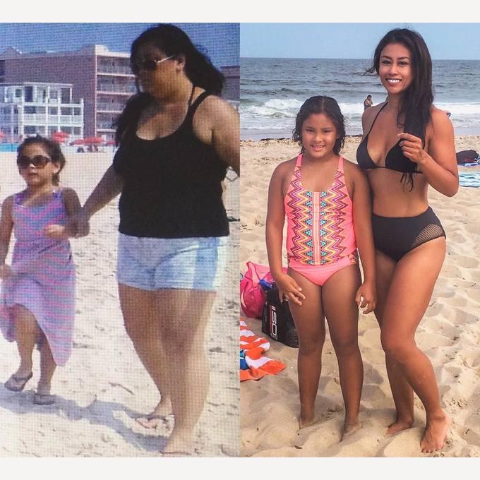 Không thể chơi cùng con vì thân hình quá khổ, mẹ giảm 45 kg trong một năm