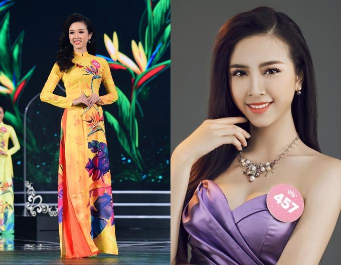 Nguyễn Thị Thúy An từng được ban bình luận nhận xét có khuôn mặt xinh xắn trong ba đêm thi Người đẹp Thời trang.