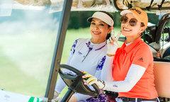 Dàn nghệ sĩ tham gia giải golf từ thiện của Chi Bảo