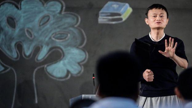 Ông chủ Alibaba sẽ về với giáo dục sau tuổi 55, vì đó là công việc ông yêu. Ảnh:BBC.